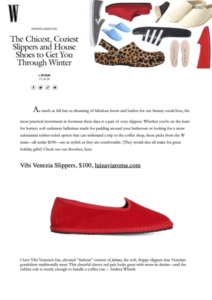 wmegazine.com, ViBi Venezia, November 2020