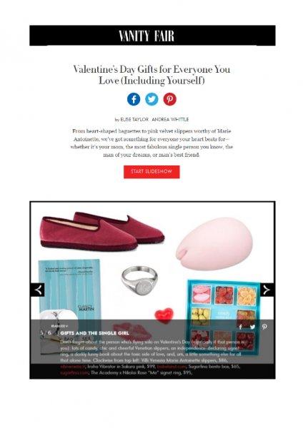 Vanityfair.com, ViBi Venezia, February 2016