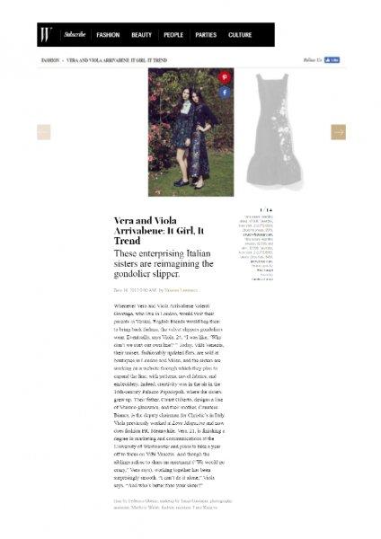 Wmagazine.com, ViBi Venezia, 16th June 2016