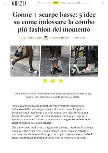 grazia.it/moda/tendenze-moda/ ViBi Venezia  31.03.21