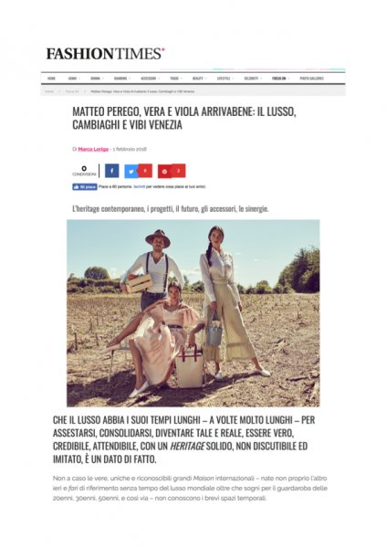 Fashiontimes.it, ViBi Venezia, 01.02.18-page1