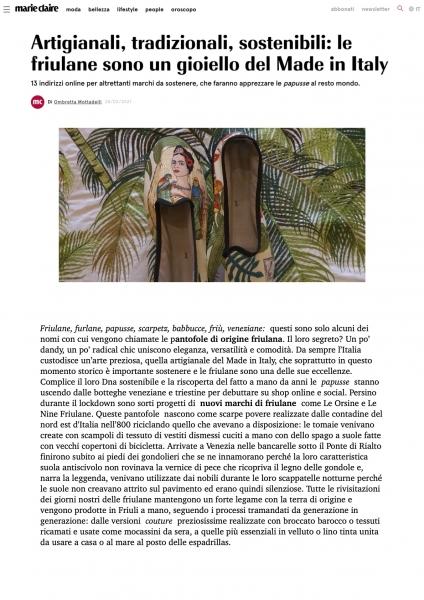 marieclaire.com/it/moda/scarpe ViBi Venezia 28.02.21